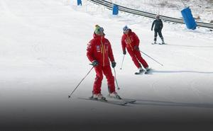 León estrena temporada de esquí: «Ya había ganas de nieve»