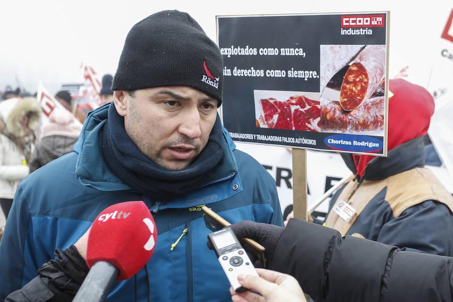 Huelga en Embutidos Rodríguez
