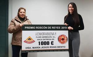 Gerbolés entrega el premio de 1.000 de su roscón de Reyes