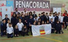 Peñacorada acoge el programa 'Todos Olímpicos'