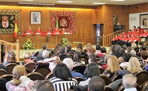 La facultad de Derecho de la ULE celebra la festividad de San Raimundo de Peñafort