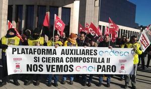 Maessa confirma el despido colectivo para 46 trabajadores y mantiene a 22 en mantenimiento en Compostilla