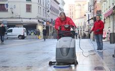 Johson&Johson asegura que el 'deslizamiento' en la Calle Ancha se debe a un «deficiente mantenimiento»