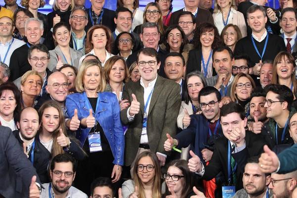 Los candidatos del PP de las nueve capitales de Castilla y León se presentan como ganadores desde la ilusión y unidad