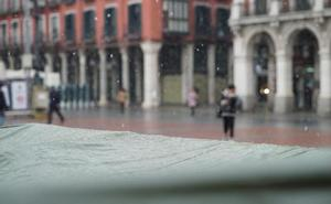 Cuatro provincias de Castilla y Léon estarán este sábado en riesgo por nieve
