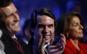 Rajoy barre a Aznar en el 'aplausómetro'