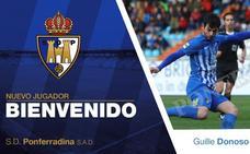 Guille Donoso regresa a la SD Ponferradina