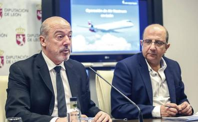 Air Nostrum estudia crecer en vuelos y destinos estivales desde el Aeropuerto de León y estudia conexiones internacionales