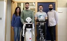La ULE y la URJC investigan un sistema de localización para robots sociales móviles