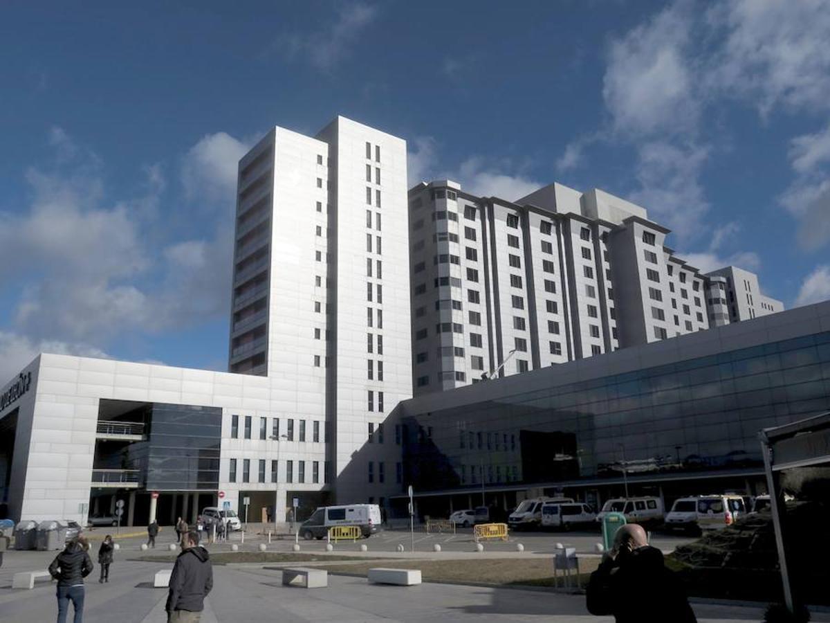 Pasado y presente del Hospital de León: así era y así es el Caule