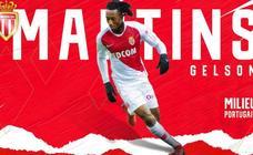 El Atlético cede a Gelson Martins al Mónaco