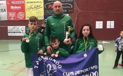 Dos oros y una plata para el Valderas en el Campeonato de Castilla y León