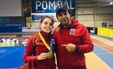 Nuria Menéndez brilla en Pombal