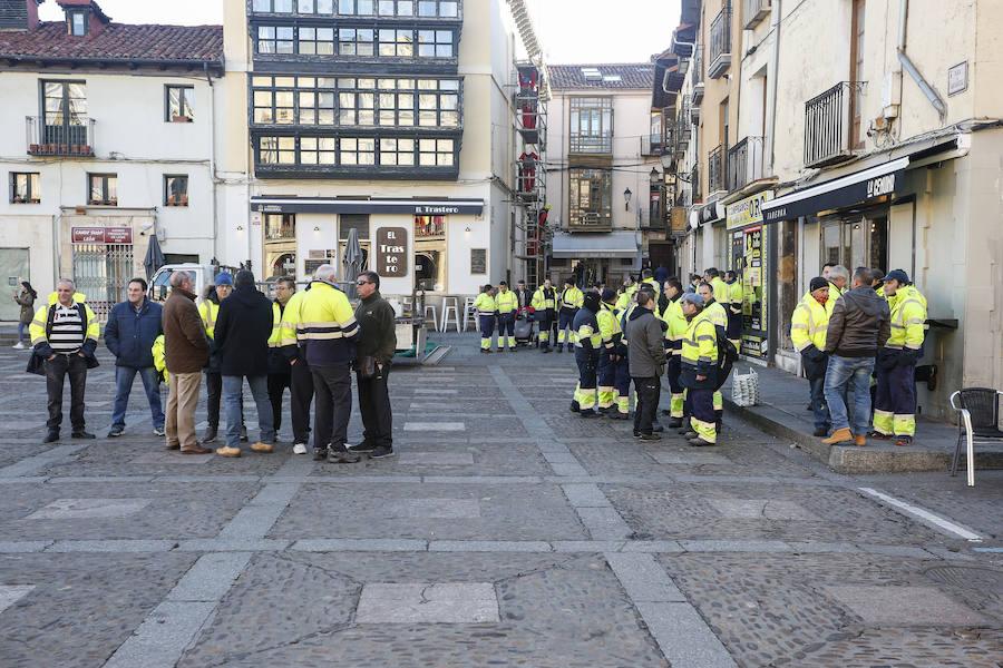 Pleno municipal en el Ayuntamiento de León