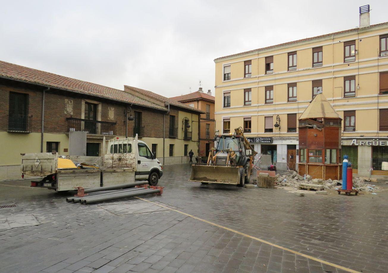 La nueva plaza Puerta Obispo