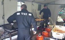 Así es la vida en el 'campamento base' de la UME