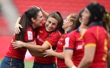 María Casado y el 'seven' español, a los cuartos en las Series Mundiales de Sydney