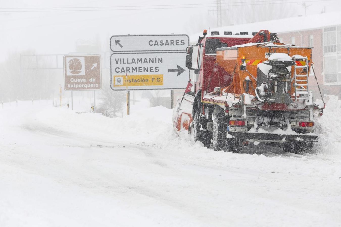 La provincia, bajo la nieve