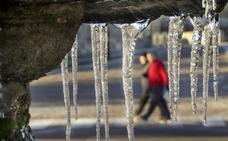 Villablino, con -7º, sufre una de las temperaturas mínimas más bajas de todo el país