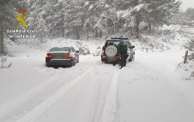 La Guardia Civil realiza 135 rescates en la provincia de León durante el temporal de nieve