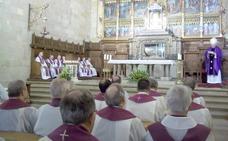 La Diócesis se despide con una misa de Fernando Sebastián, obispo de León