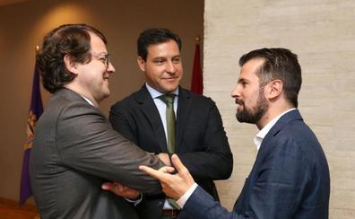 Las Cortes de Castilla y León retoman curso hacia las urnas con la incógnita en los carteles de Cs y Vox