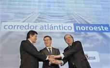 Herrera, Feijóo y Fernández reivindicarán el Corredor Atlántico en un acto conjunto en Madrid