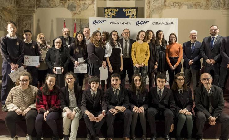 Entrega de premios del concurso El Norte Escolar