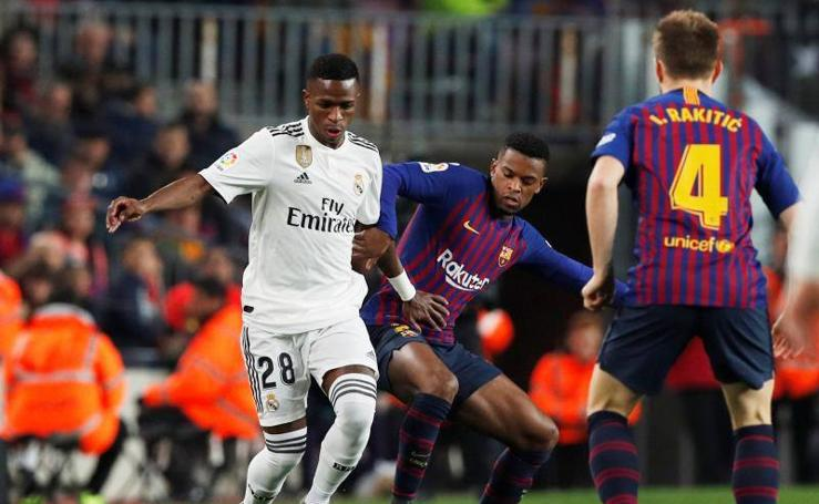 Las mejores imágenes del Barça-Real Madrid