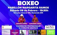 El Pabellón Margarita Ramos acoge una nueva velada de boxeo