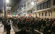 Los taxistas de Madrid serán expedientados por manifestarse sin permiso
