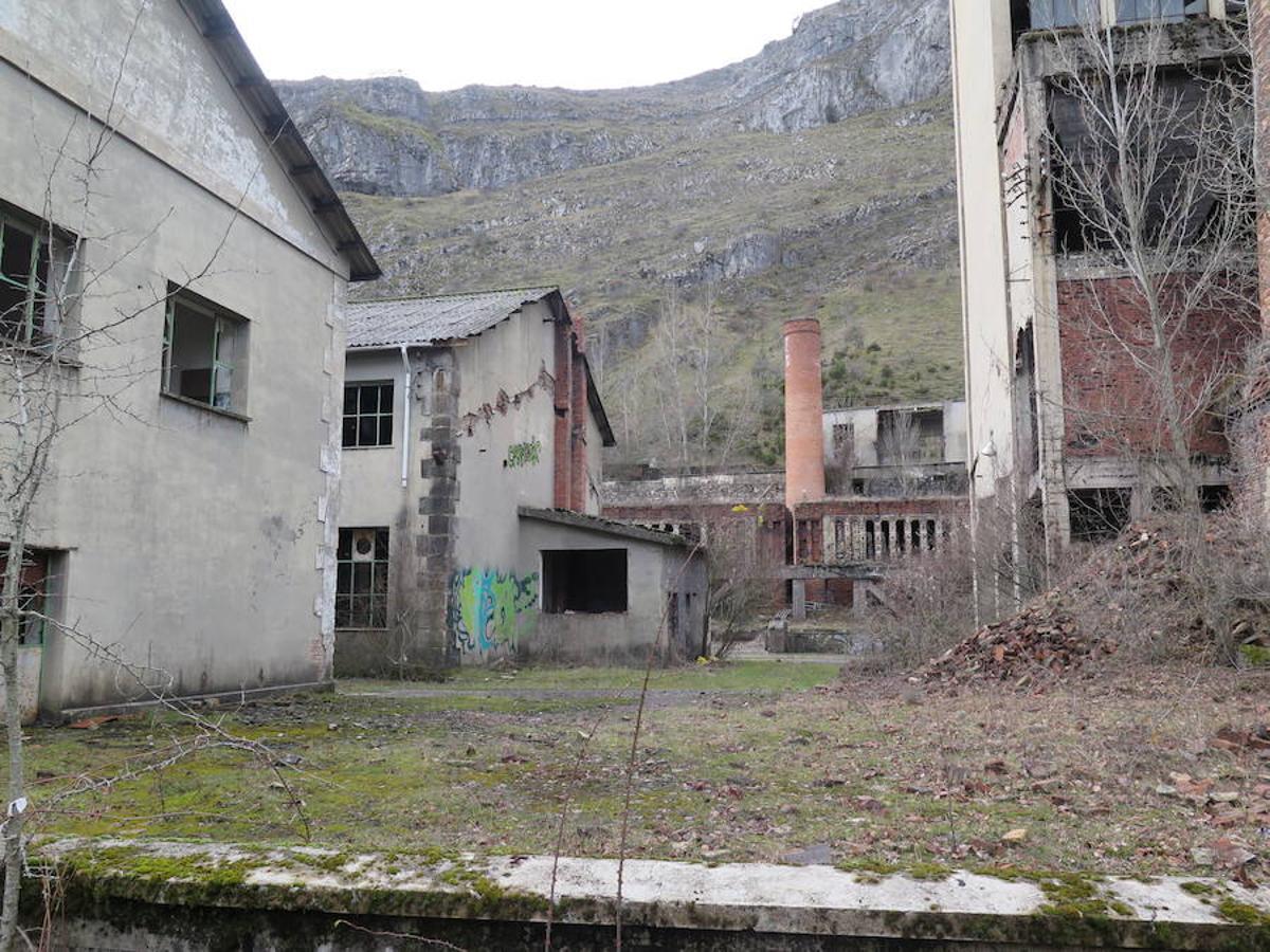 Viejo lavadero de carbón de Sabero