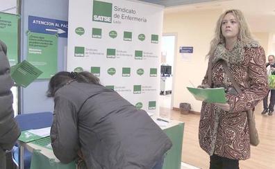 Ruth Marcos muestra el apoyo de León a las enfermeras y su lucha por los pacientes