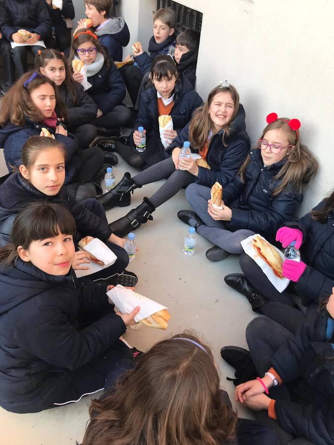 Día del bocadillo solidario en Pastirinas