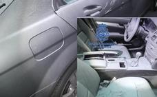 Detenidos 'in fraganti' los autores de una treintena de robos en interior de vehículos en garajes