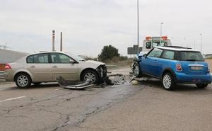León registra una media diaria de 51 accidentes leves de tráfico y alcanza los 18.501 siniestros
