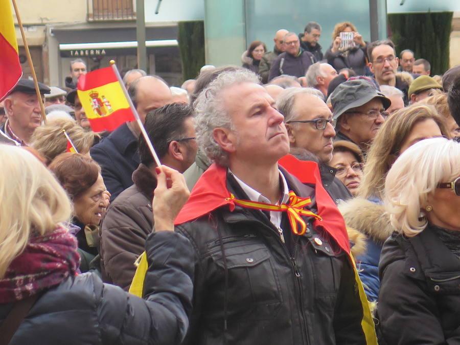 Manifestación por la unidad de España en León
