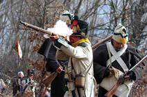 Recreación de la batalla de Turienzo en Santa Colomba de Somoza