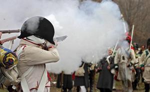 Turienzo de los Caballeros retrocede más de 210 años para recrear la batalla entre el ejército español y el francés