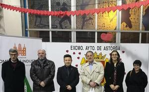 Finaliza la III Feria de San Valentín de Astorga con gran asistencia de público