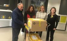 Correos dona equipos informáticos a la ONG Banco de Alimentos de Ponferrada