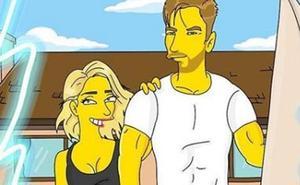 Elsa Pataky y Chris Hemsworth, nuevos personajes de 'Los Simpson'