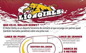 Las Lions Girl buscan fundar un equipo de roller derby en León