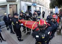 La UME de León saca músculo en Asturias