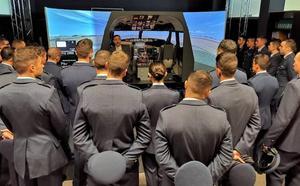 Industriales recibe la visita de 176 alumnos de la Academia Básica del Aire
