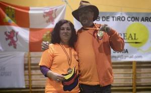 Un oro y una plata para el Club Arqueros Virgen del Camino en el Campeonato Autonómico
