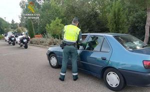 La Guardia Civil de León investiga a 139 personas por conducir sin el permiso en regla durante 2018