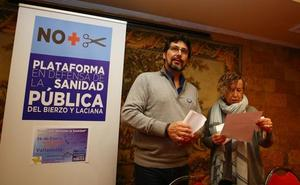 La plataforma sanitaria se reúne con Alberto Garzón para trasladarle el problema de falta de profesionales en El Bierzo