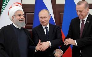 La tardanza de EE UU en salir inquieta a los grandes actores de la guerra siria
