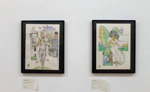 Quince ilustradores de 'La Pila' exponen sus obras en el Albéitar